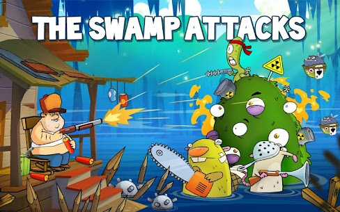 Swamp Attack APK MOD 4.0.7.95 (Unlimited Money) 6