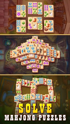 Sheriff of Mahjong: Match tiles & restore a town 1.9.900 screenshots 3