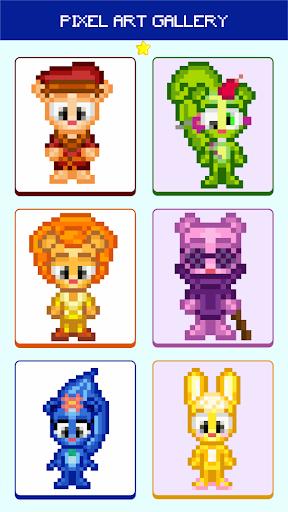 Pixel Art Happy Tree Color By Number  screenshots 1