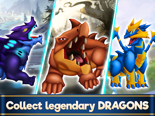 Dragon Paradise City: Breeding War Game  screenshots 6