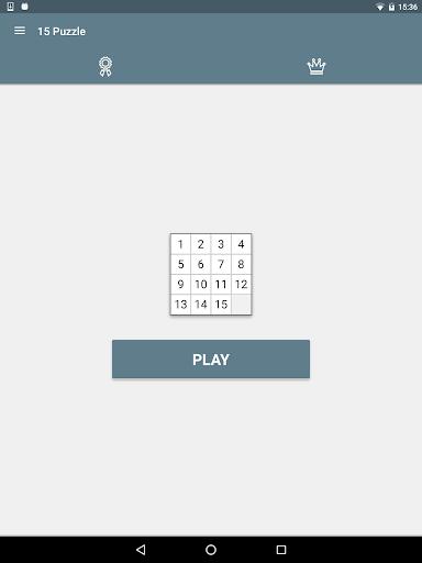15 Puzzle (Game of Fifteen)  screenshots 15