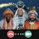 東方の三博士に話す - クリスマスビデオコール - Androidアプリ