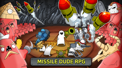 Missile Dude RPG: Tap Tap Missile 86 screenshots 1