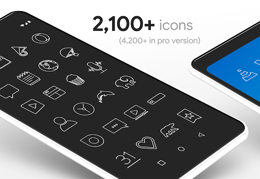 Lines - Icon Pack (Free Version) 3.2.8 Screenshots 7