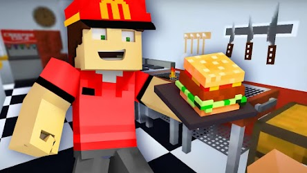 Fast Food Restaurant Mod for Minecraft .APK Preview 3