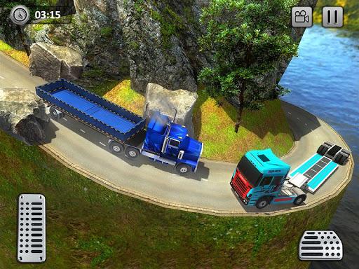 Uphill Gold Transporter Truck Drive apkdebit screenshots 12