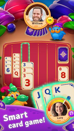 gnomy rummy: card match 2020 games screenshot 1