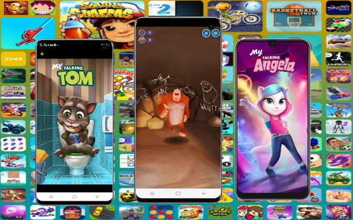 Web hero, Online Game, All in one Game, New Games apktram screenshots 3