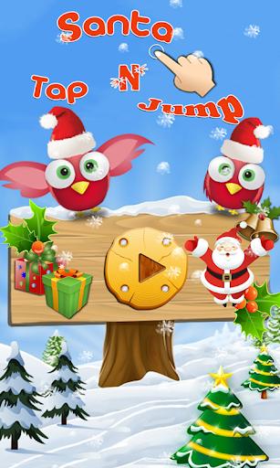 santa tap n jump screenshot 1