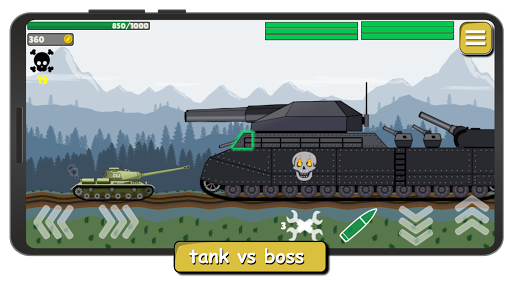 Tank Battle War 2d: game free apktram screenshots 2