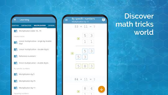 Math games  arithmetic, times tables, mental math Apk Download 3