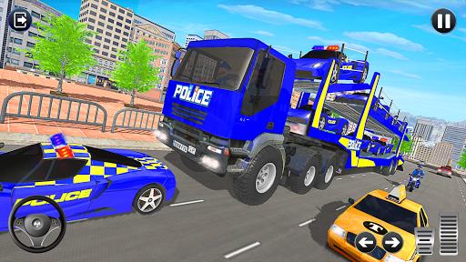 Grand Police Vehicles Transport Truck  Screenshots 12