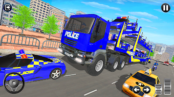 Grand Police Vehicles Transport Truck