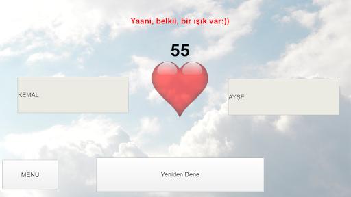 İsimli Aşk Testi - Aşk Ölçer  screenshots 1