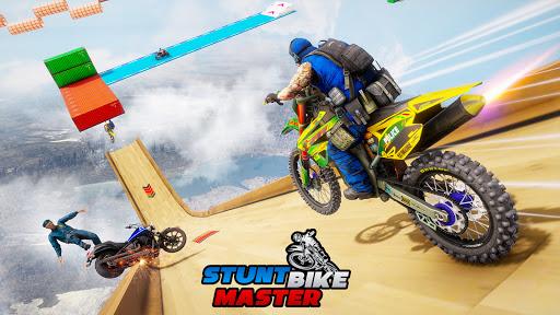 Police Bike Stunt Games: Mega Ramp Stunts Game  screenshots 9
