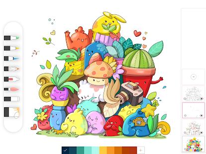 Drawing Desk Draw Paint Color Doodle & Sketch Pad 5.8.7 Screenshots 15