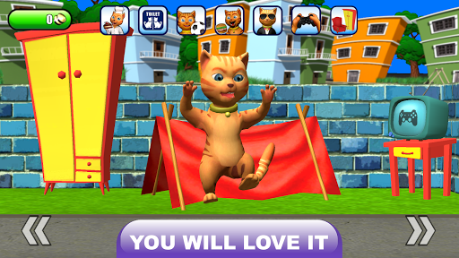 Talking Cat Leo: Virtual Pet 210111 screenshots 2