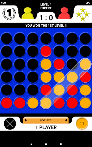 4 in a row - Board game for 2 players 2.1 screenshots 4