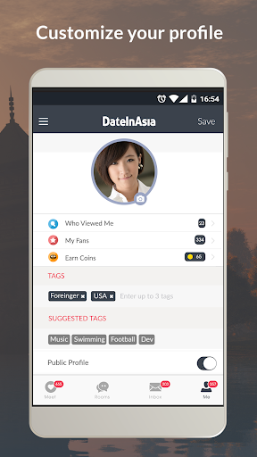 Date in Asia - Dating, Chat, Meet Asian Singles  Screenshots 3