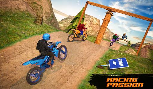 Motocross Dirt Bike Stunt Racing Offroad Bike Game apktram screenshots 6