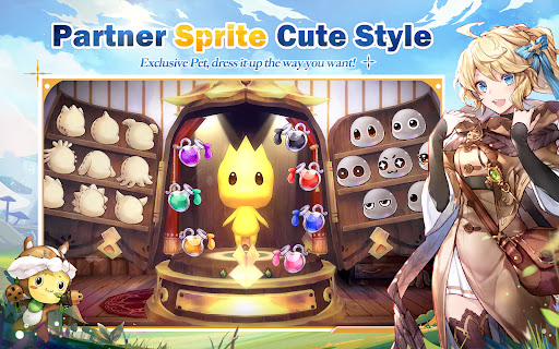 Sprite Fantasia Varies with device screenshots 12