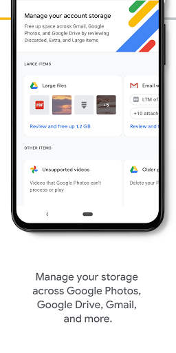 Google One screenshots 2
