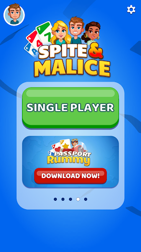 Spite & Malice Card Game apkpoly screenshots 1
