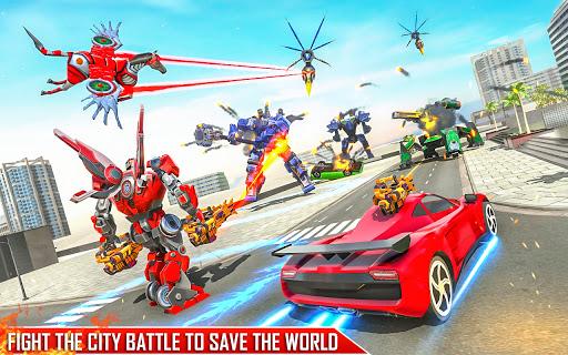 Horse Robot Games - Transform Robot Car Game 1.2.3 screenshots 6