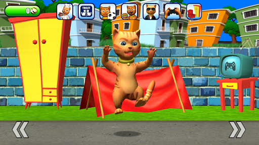 Talking Cat Leo: Virtual Pet 15 screenshots 2