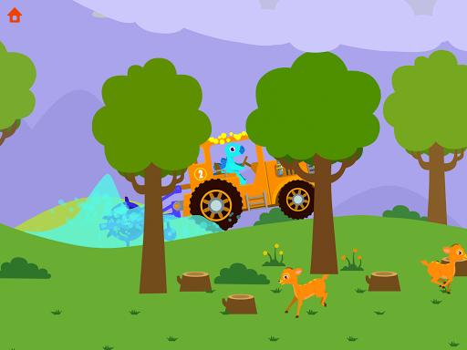 Dinosaur Farm - Tractor simulator games for kids screenshots 11