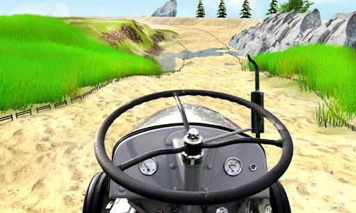 Tractor Trolley Simulator Offroad Tractor Racing  apktcs 1