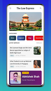 The Law Express – Legal News, Bare Acts, Clat 2021 Apk Download 3