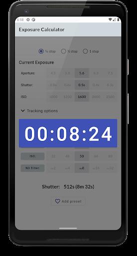 Exposure Calculator 4.4.7 screenshots 2
