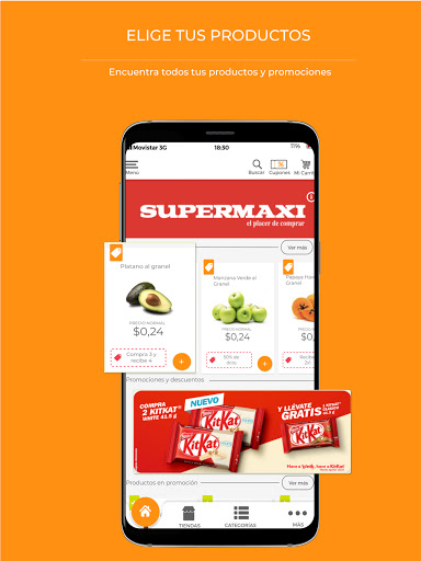 Tipti: Supermercado a domicilio modavailable screenshots 1