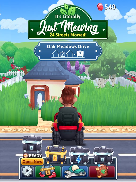 It's Literally Just Mowing poster 13