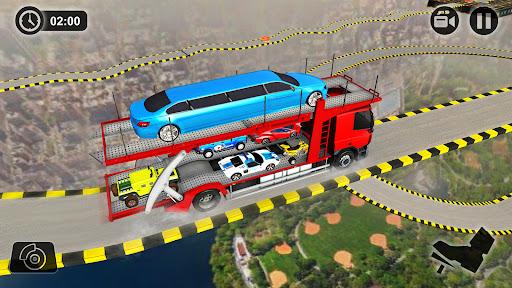 Vehicle Transporter Trailer Truck Game  screenshots 16