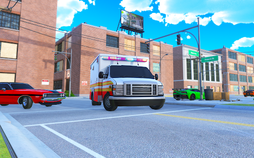 Light Speed Hero Rescue Mission: City Ambulance 1.0.4 screenshots 8