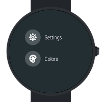 Animated Starfield Watch Face