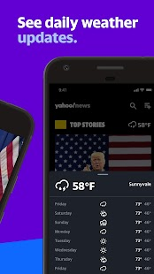 Yahoo News: Breaking, Live Video & US Screenshot