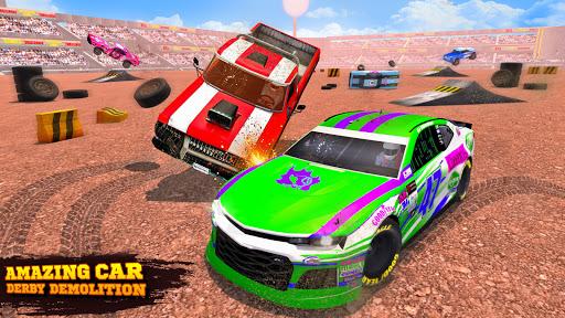 Demolition Derby Car Crash Stunt Racing Games 2021 3.0 Screenshots 1