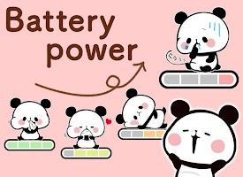 Battery Saver Mochimochi Panda Battery Widget