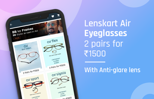 Lenskart: Eyeglasses, Sunglasses, Contact Lens App 3.0.7 screenshots 4