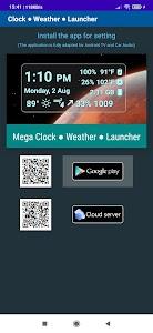 Clock ● Weather ● Launcher 1.4