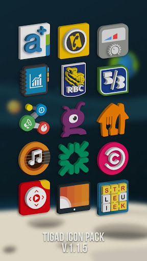 Tigad Pro Icon Pack apktram screenshots 7