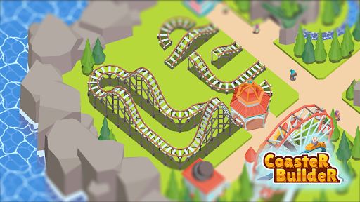 Coaster Builder: Roller Coaster 3D Puzzle Game  screenshots 23
