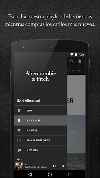 Captura de Pantalla 5 de Abercrombie & Fitch para android
