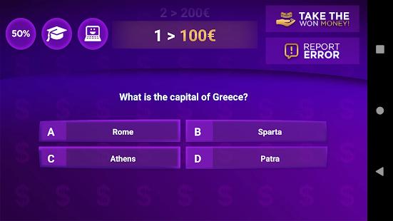 Trivia Quiz Get Rich - Fun Questions Game 3.55 screenshots 2
