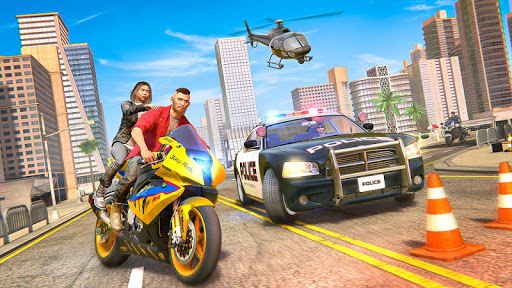 Theft Bike Drift Racing 1.10 screenshots 6