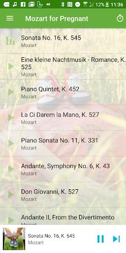 Mozart for Pregnant  Screenshots 1