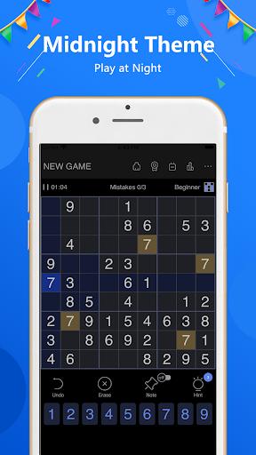 Sudoku - Classic free puzzle game 1.9.2 screenshots 23